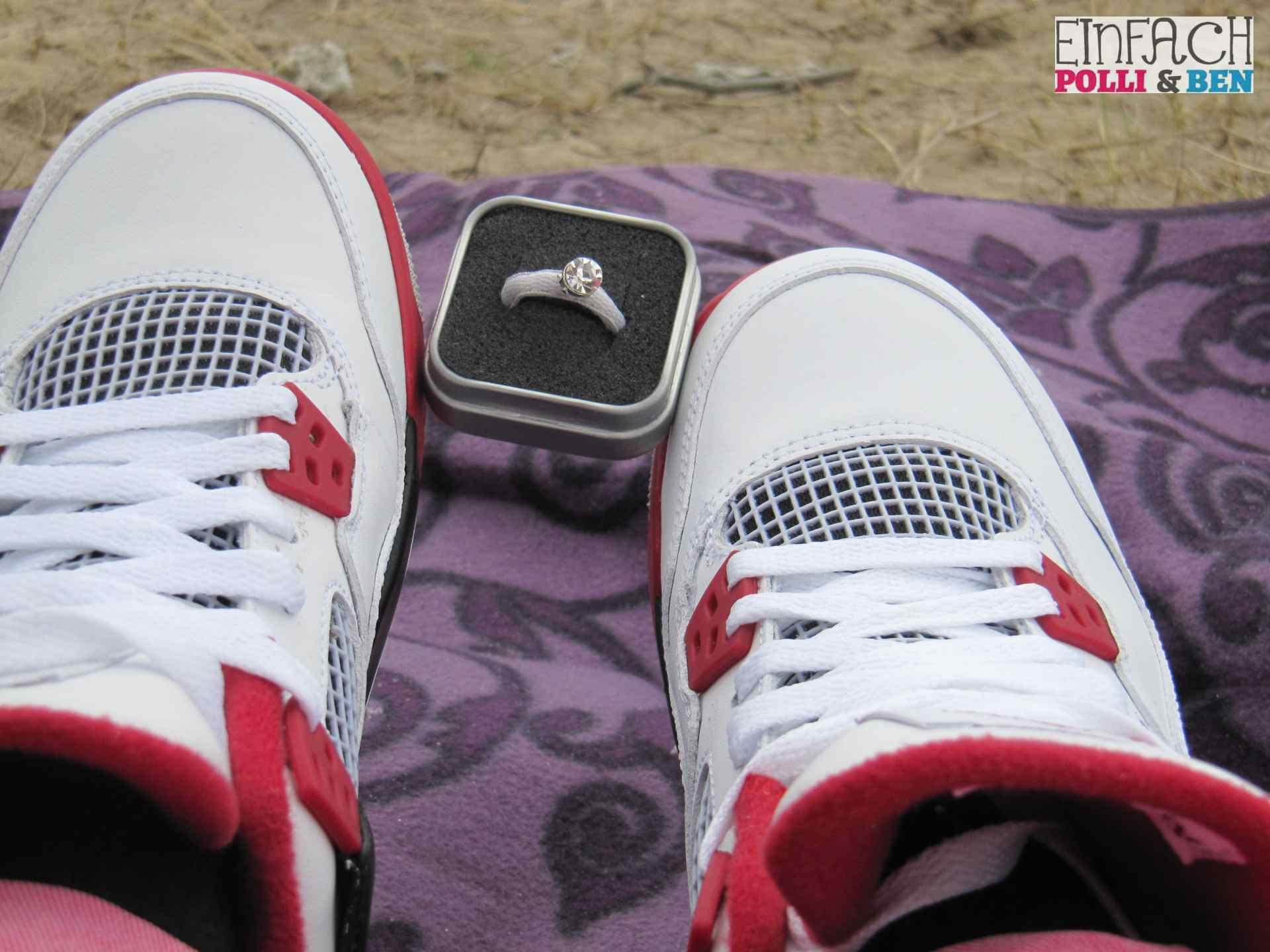 Sneaker Verlobungsring