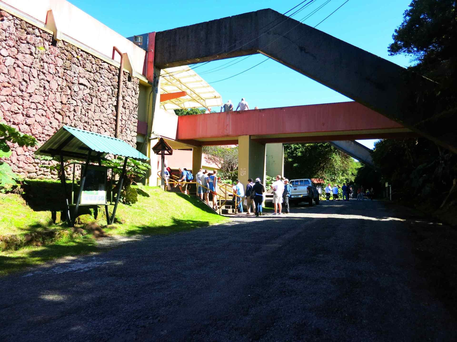 Nationalpark Volcano Poas Eingang