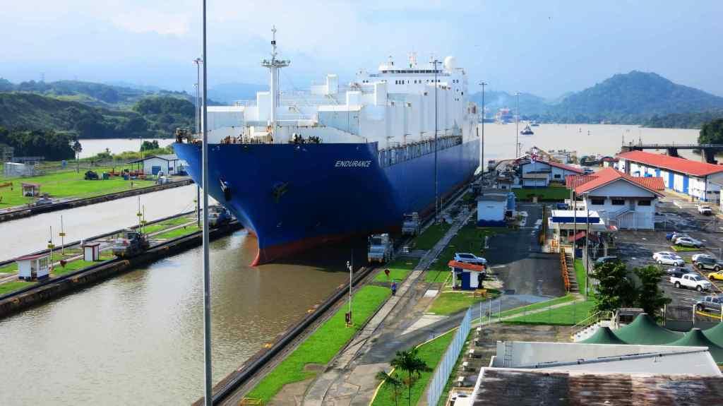 Panama Kanal Schiff