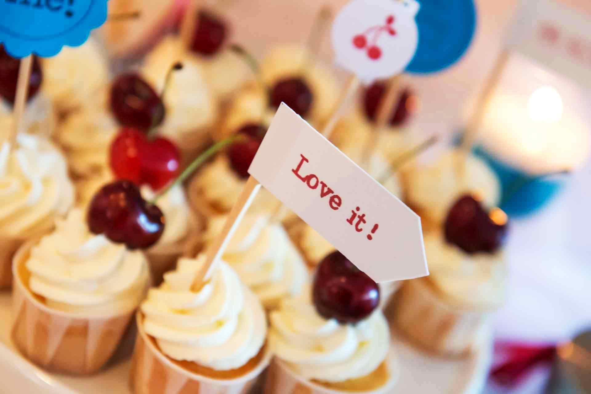 Cupcakes Hochzeit Candy Buffet