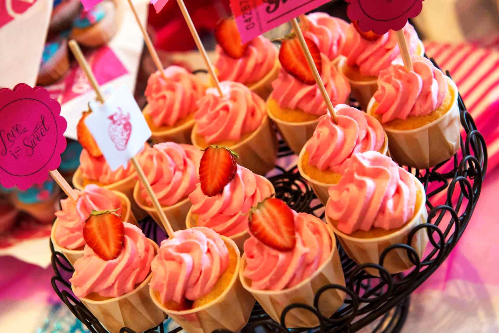 Cupcakes Sneakerhochzeit