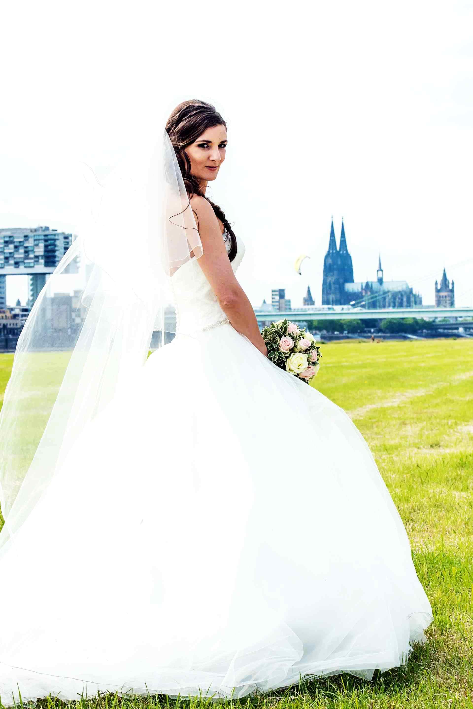 Hochzeitskleid Sneakerwedding