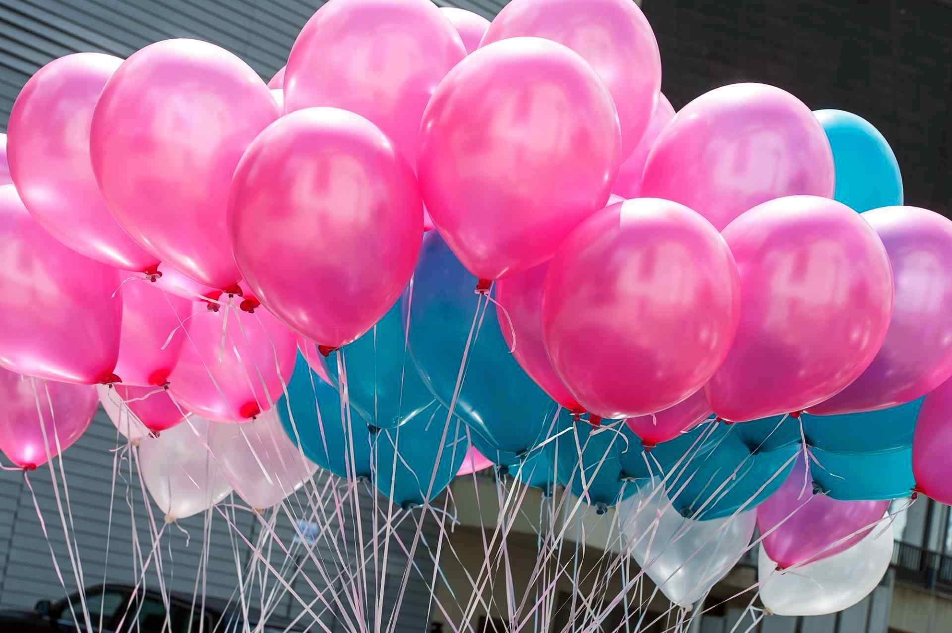 Sneakerwedding Luftballons