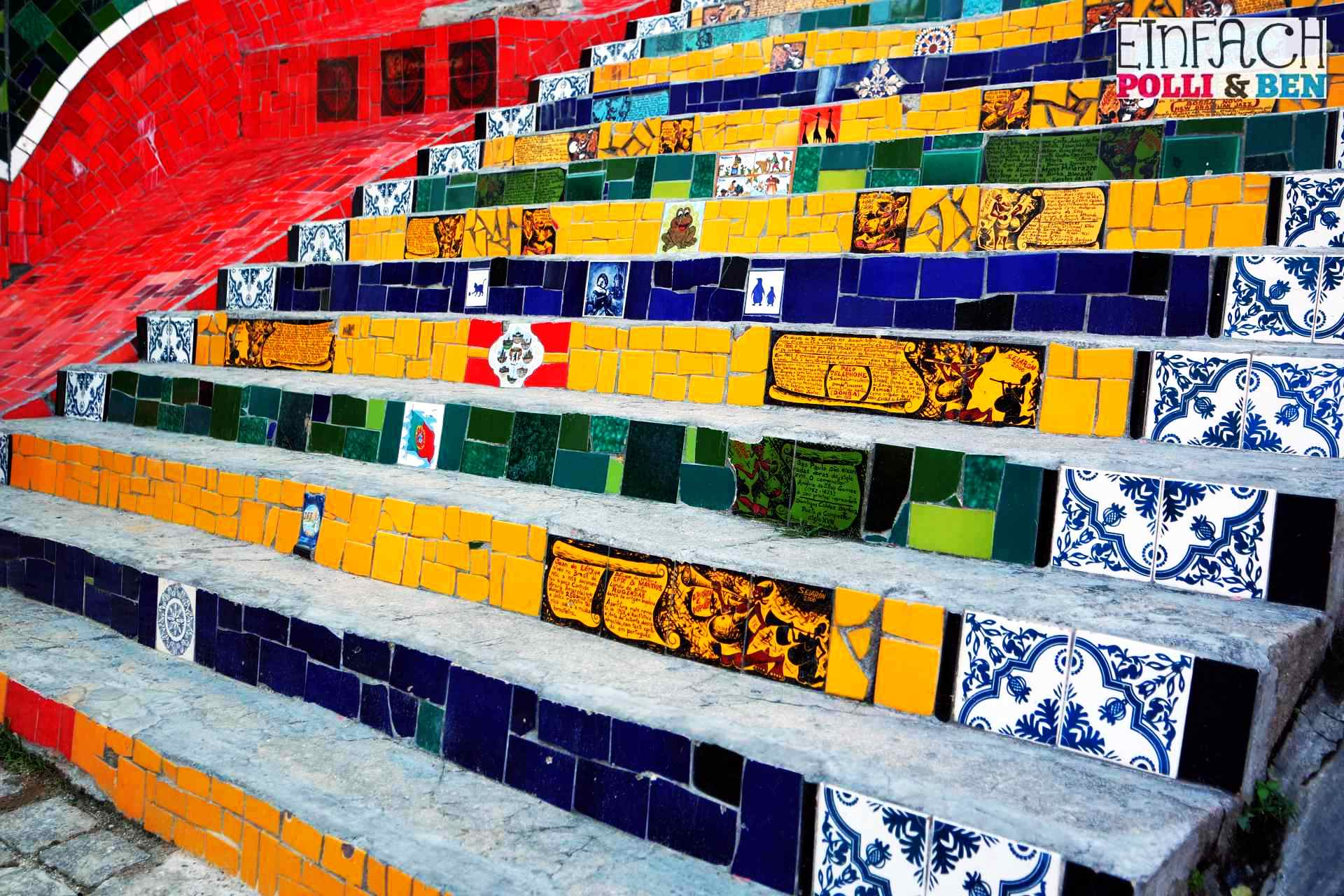 Kennst du die bekannteste Treppe der Welt?