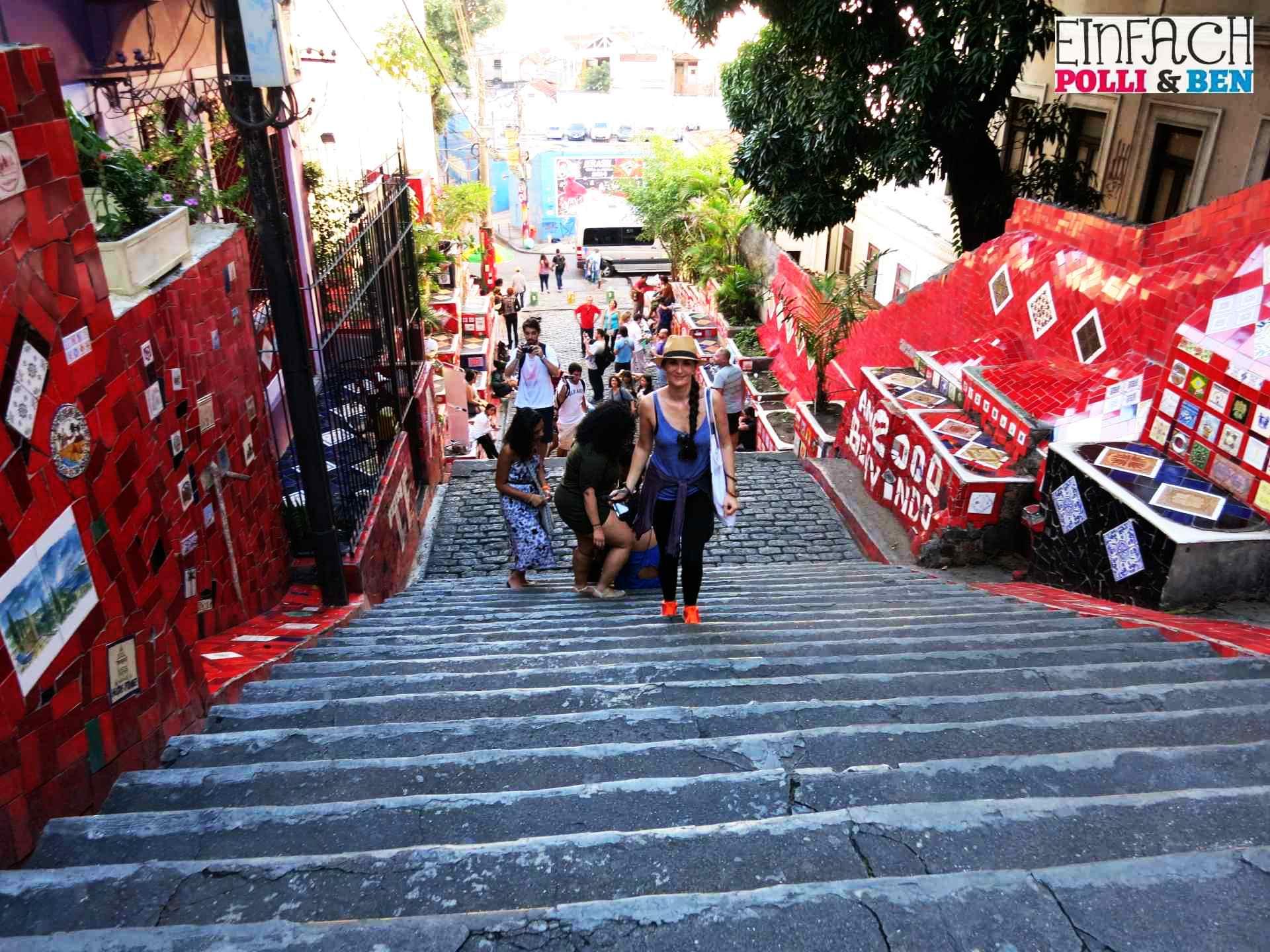 Escadaria Selaron Treppe Lapa Fliesen Mosaik2