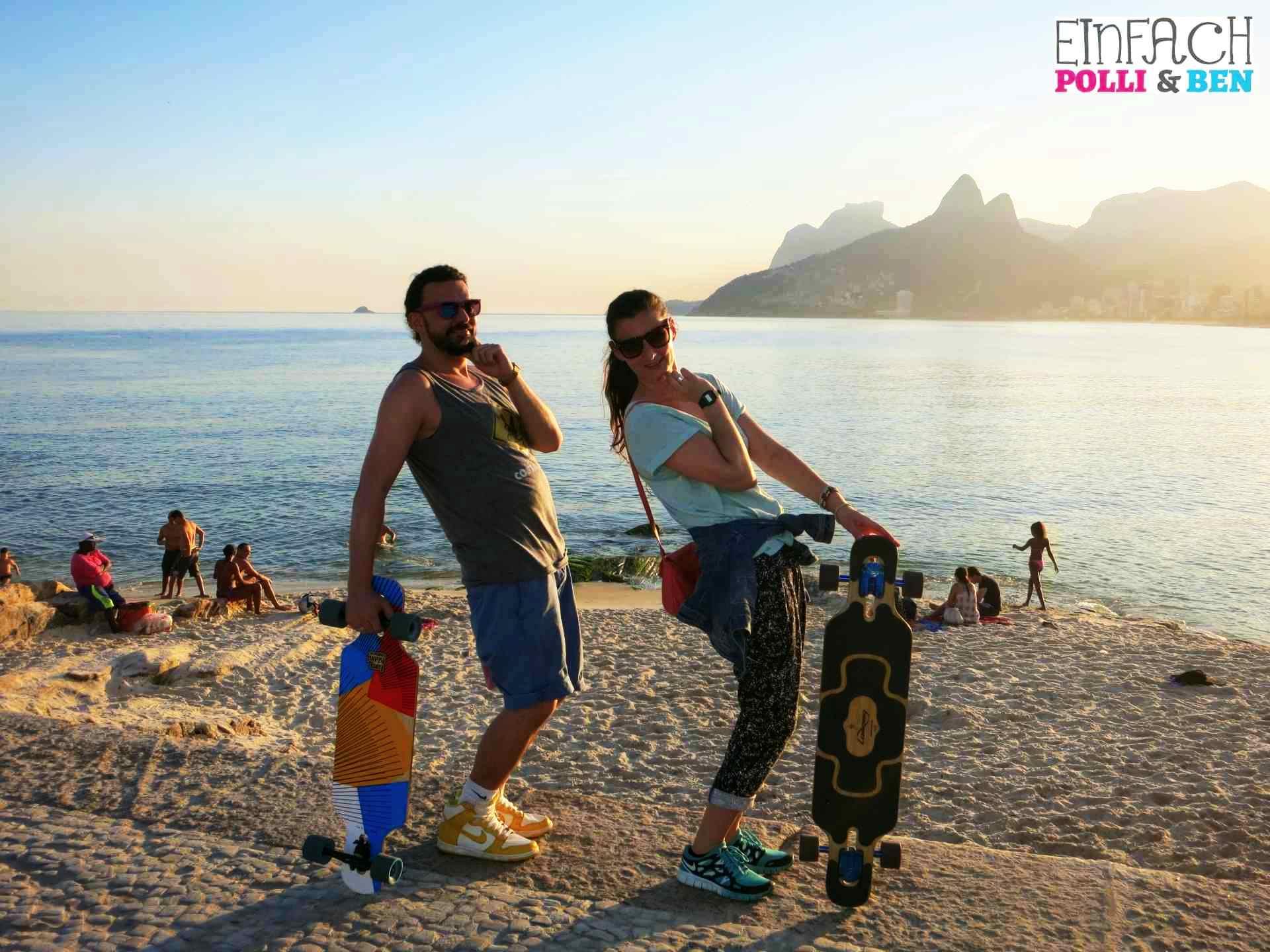 Warum du Rio mit dem Longboard entdecken musst!