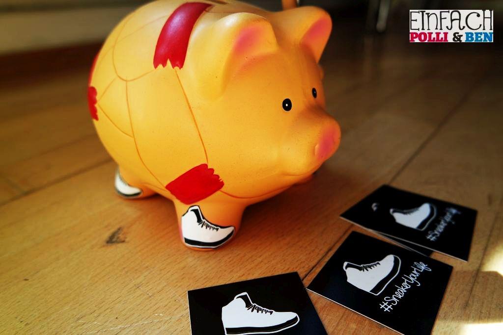 Geldgeschenk Sneakeryourlife