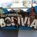 Bolivia Felicidades Sign