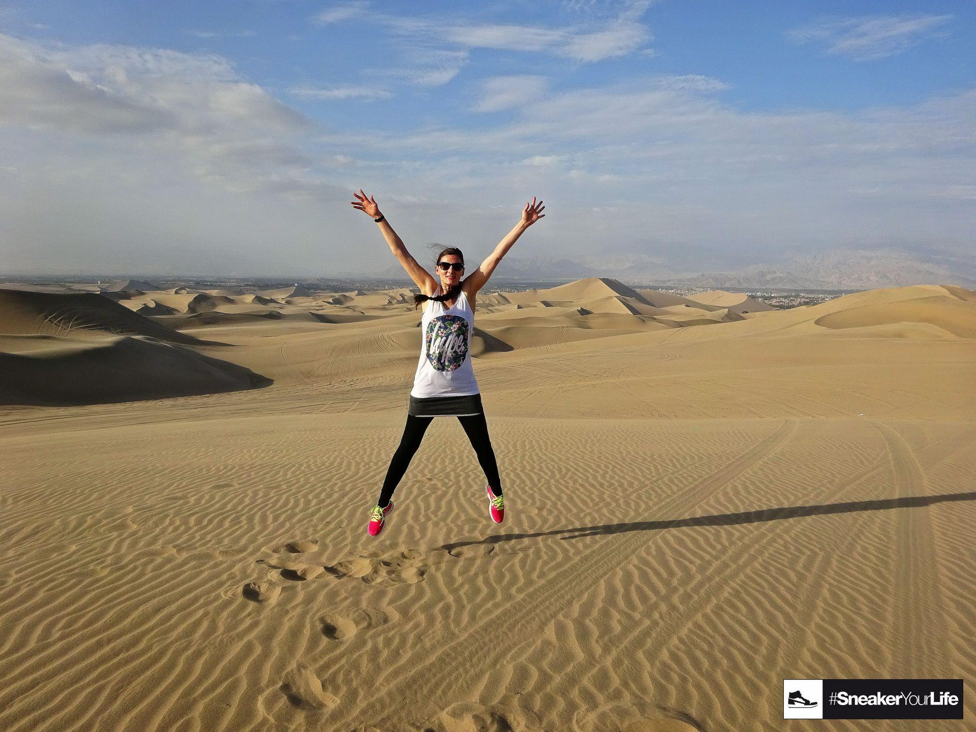 Huacachina Wüste Peru