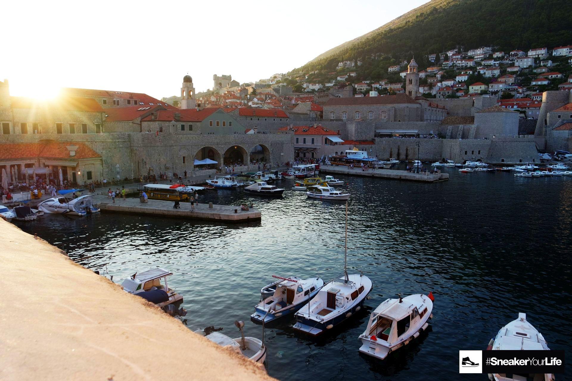 Stadtmauer Dubrovnik Aussicht